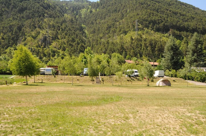La Brigue Aire naturelle Camping