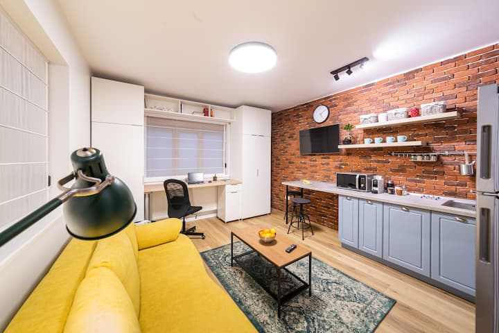 Cozy Studio 12 in Bucharest City Center-Victoriei