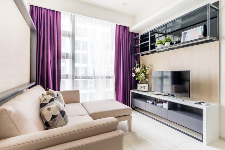 1CEA0_ Brand New 1BR Suite Near Bukit Bintang