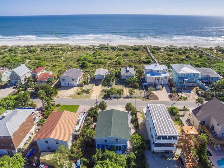 Atlantic View Beach Retreat with Pool and Spa