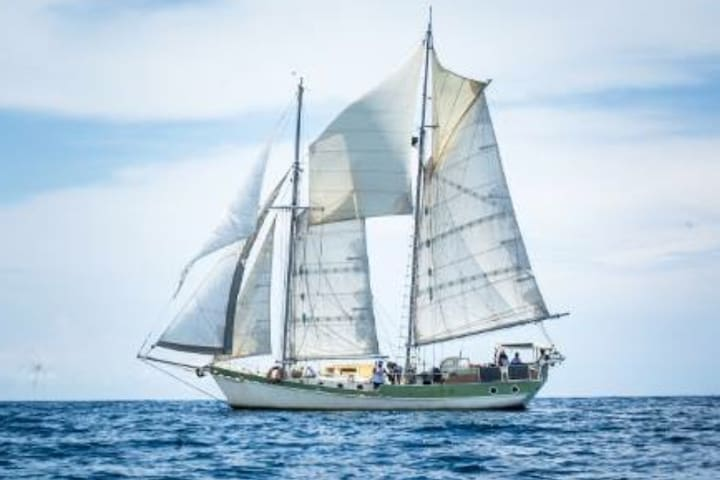 Beautiful Traditional Sailing Vessel