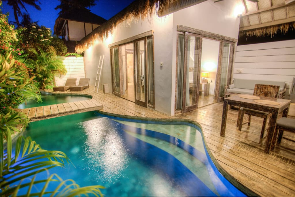 Total privacy in your own fully equipped tropical villa