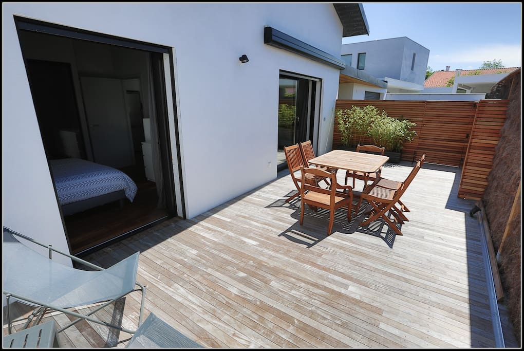 appt maison mitoyenne plage golf anglet biarritz apartments for rent in anglet aquitaine. Black Bedroom Furniture Sets. Home Design Ideas
