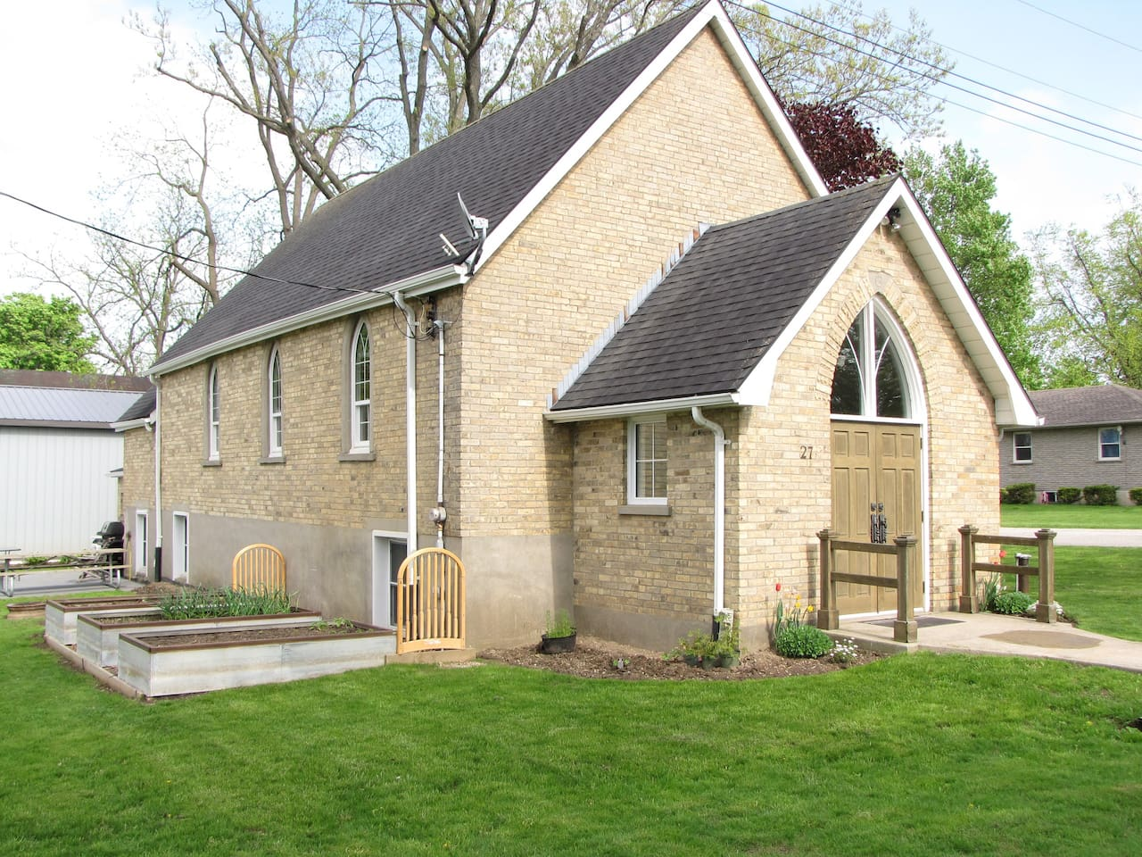 Our home is a converted Anglican Church from the 1800's