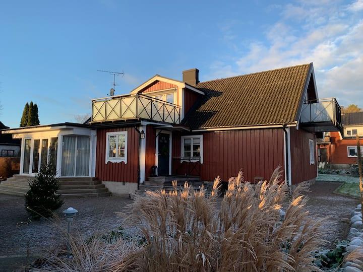 Cosy house close to Åsljunga lake