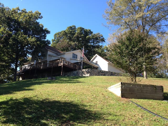 Private country hillside setting: birds & wildlife - Nashville - Daire