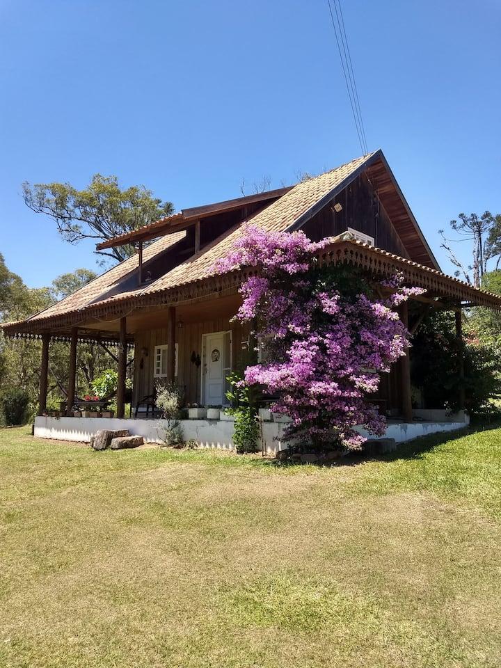 Casa de Campo no sítio 12,5 km de Canoinhas SC