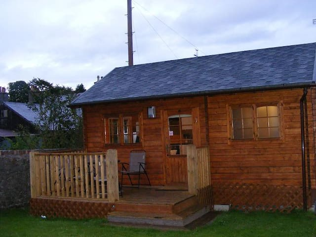Log cabin - 1 bedroom - quiet location - AB15