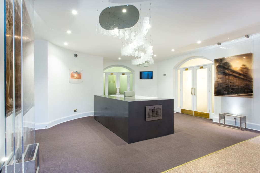 Newly refurbished reception