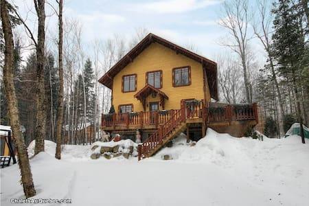 Wonderful swiss chalet - 聖阿加特德蒙(Sainte-Agathe-des-Monts) - 木屋