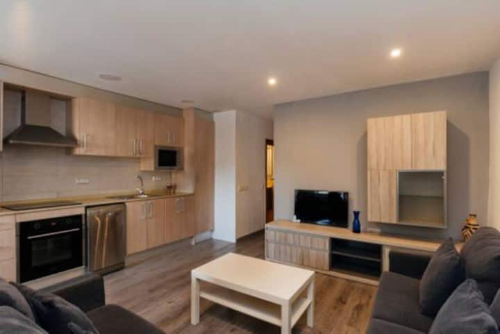 Lovely 2 rooms in Barcelona for 4 people