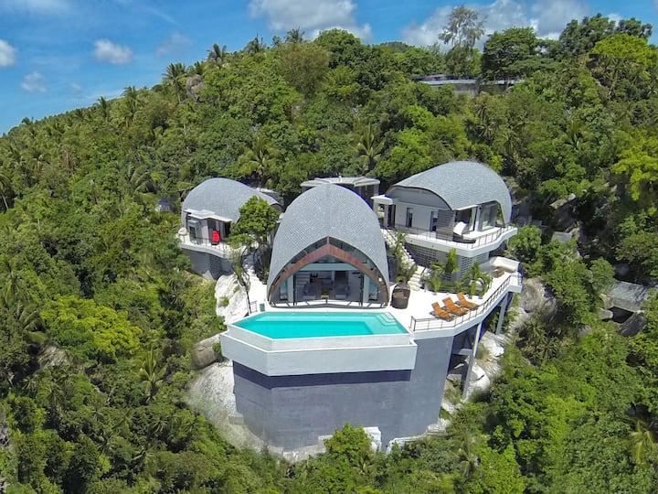 Chaweng Noi's Best Sea View Villa