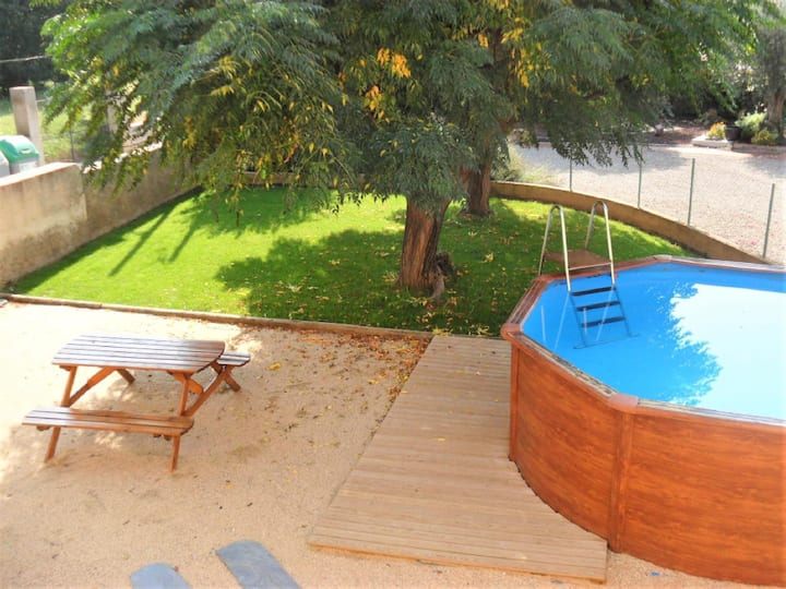 Costabravapartment Can Borrellet. pool, 8kms to Costa Brava