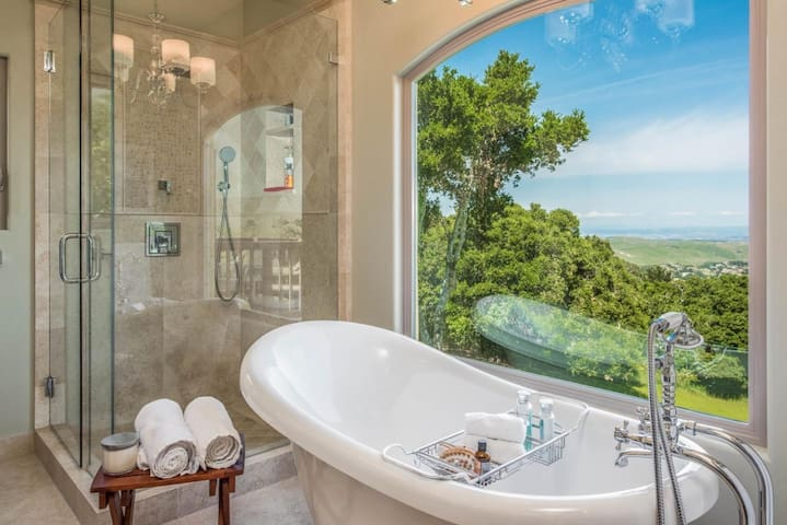 Private Gated Retreat on 5+ Acres in Carmel Valley