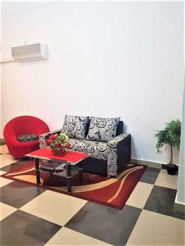 Lumineux appartement meublé à louer