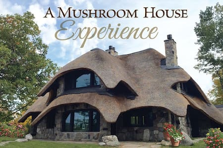 The Thatch House- Sleeps 12 - Charlevoix
