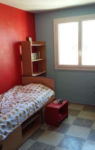 Chambre dans appartement T4, rés. avec pkg et bus - La Garde