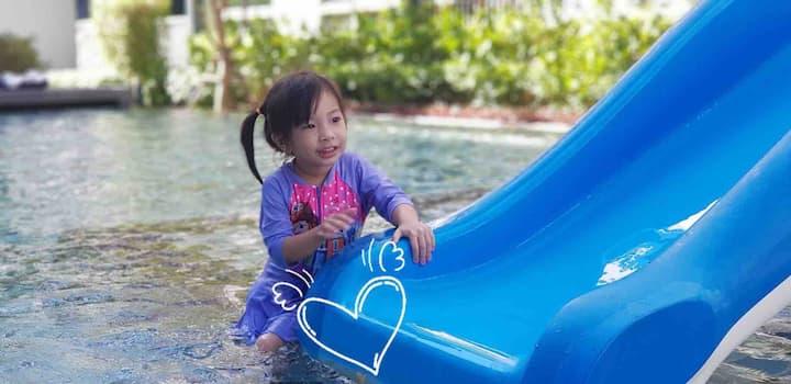 Hua Hin Beach & Big pool :ใกล้หาดหัวหิน สระว่ายน้ำ ฟิตเนส