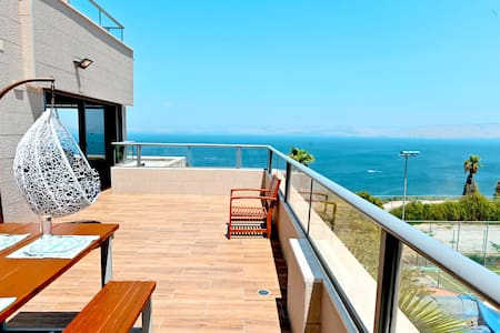 ☀Galilee Triple Terrace 180°Overlooking Sea View☀