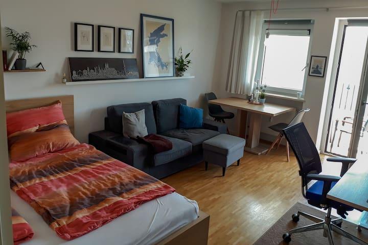 Gehobene 1,5 Zimmer Wohnung in Olympiaparknähe