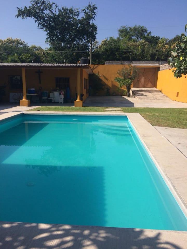La casita amarilla, Huatecalco Morelos!!