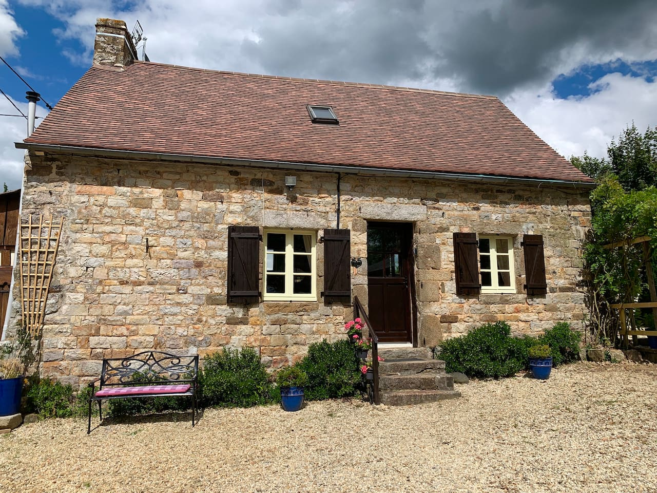 Our lovely detached Gite,  a place to completely unwind , set in a peaceful location.