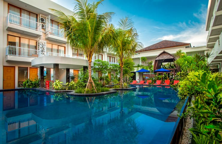Comfy  & good location room in the heart of Sanur