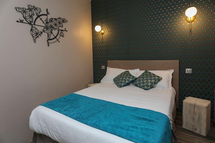 Chambre double, centre ville, calme Place Padoue