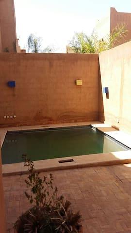 Jolie Maison avec piscine à 15 min du centre - Marrakech - Hus