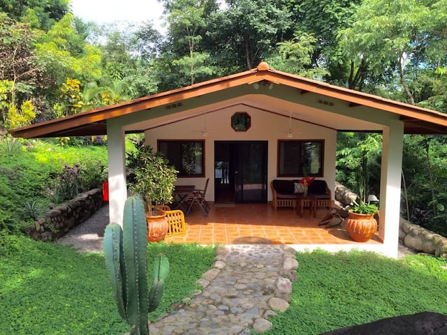 Cottage # 1 POOL AND VOLCAN VIEW 2 BEDROOMS,  5