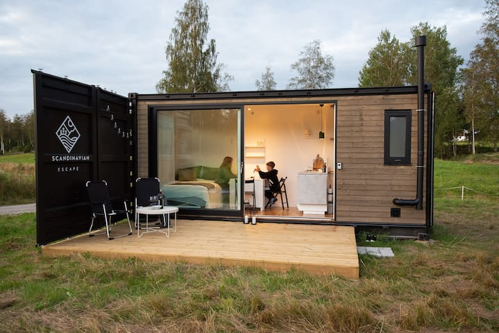 2019 Escape - offgrid container house in Sweden