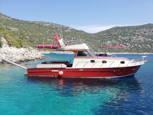 An unforgettable stay on board / Kalkan Kaş