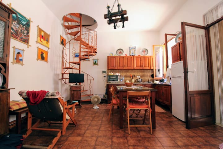 Winding Staircase House
