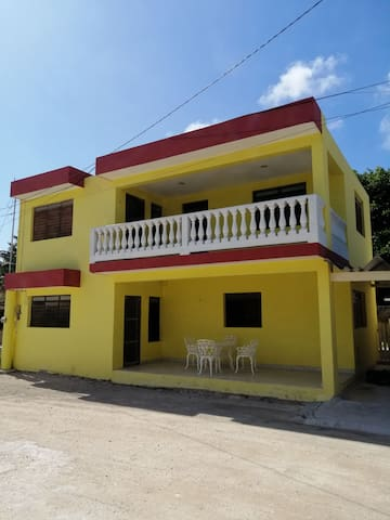 Casa Telchac Pto, Yucatán a 1 cuadra del mar