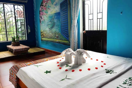 Longan homestay  -  Deluxe double room with bacony