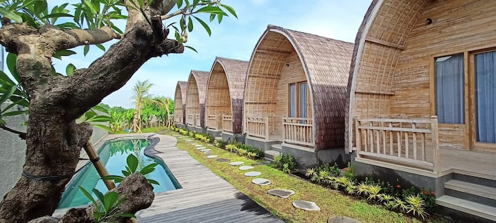 Cozy Wooden House in Canggu