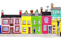 15 Chapel Street, the pink one!