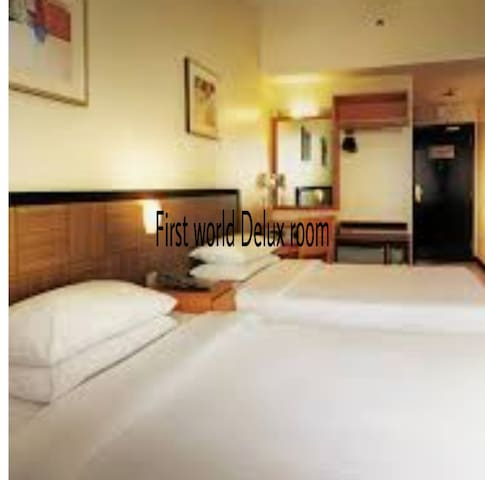 Deluxe room suitable for couple 1 or 2 pax