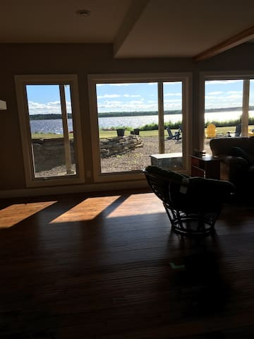 Shared space- view of Calabogie Lake