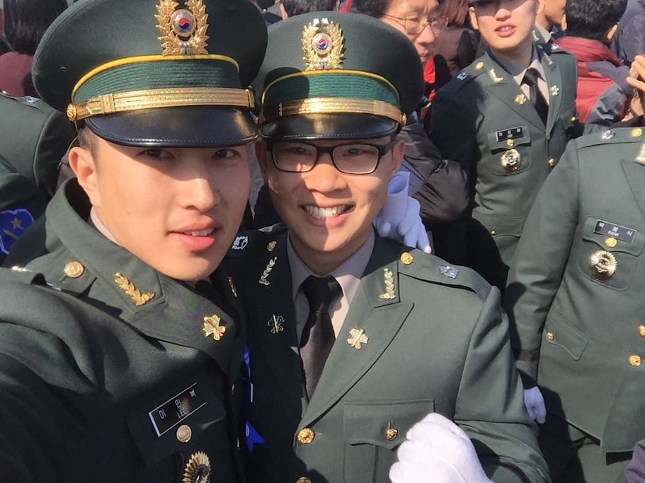 in the military , worked 10years...(do u know 태양의 후예)