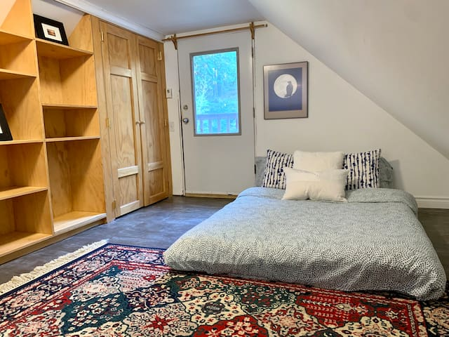 Loft double bed