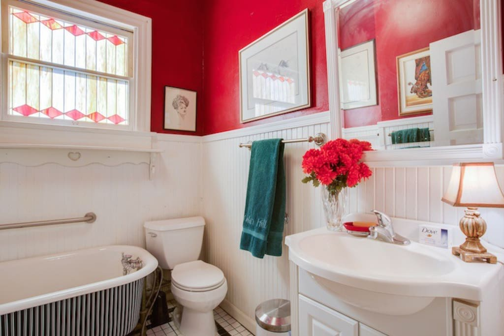 Small Hall Bathroom