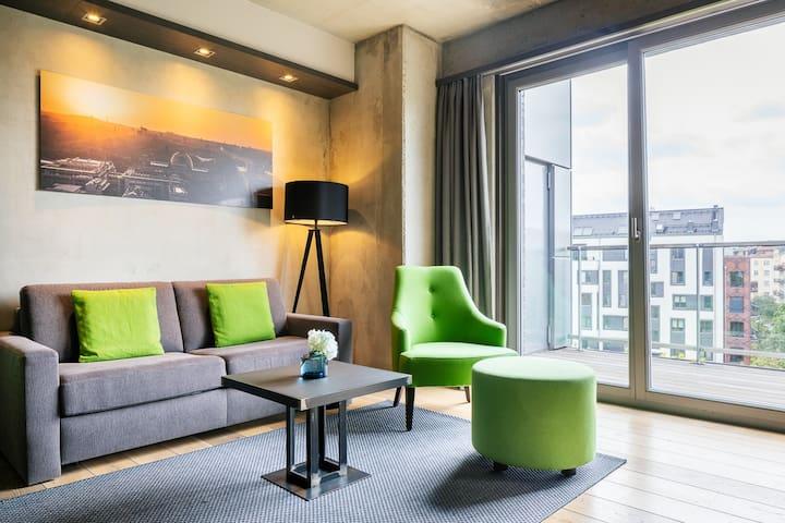 City Nature Apartment, 51qm