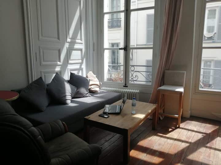 Loft cosy et calme 48 m2 quartier Rue Montorgueil