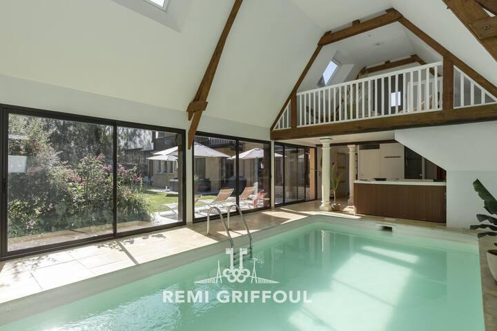 Nouveau - Villa 10P  piscine Spa-12 min Honfleur