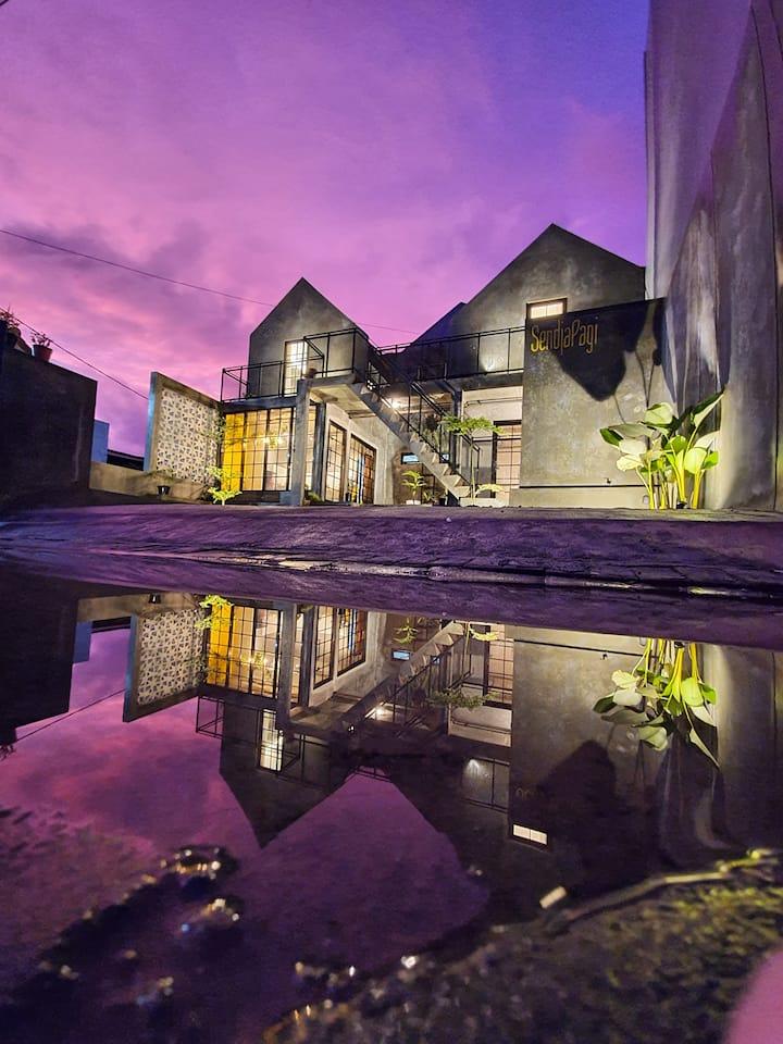 SendjaPagi Homestay | 1 Villa Max 8 Pax