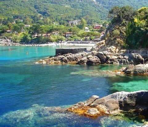 Isola Elba Capo S.Andrea monoloc. X2p -- Mandorlo