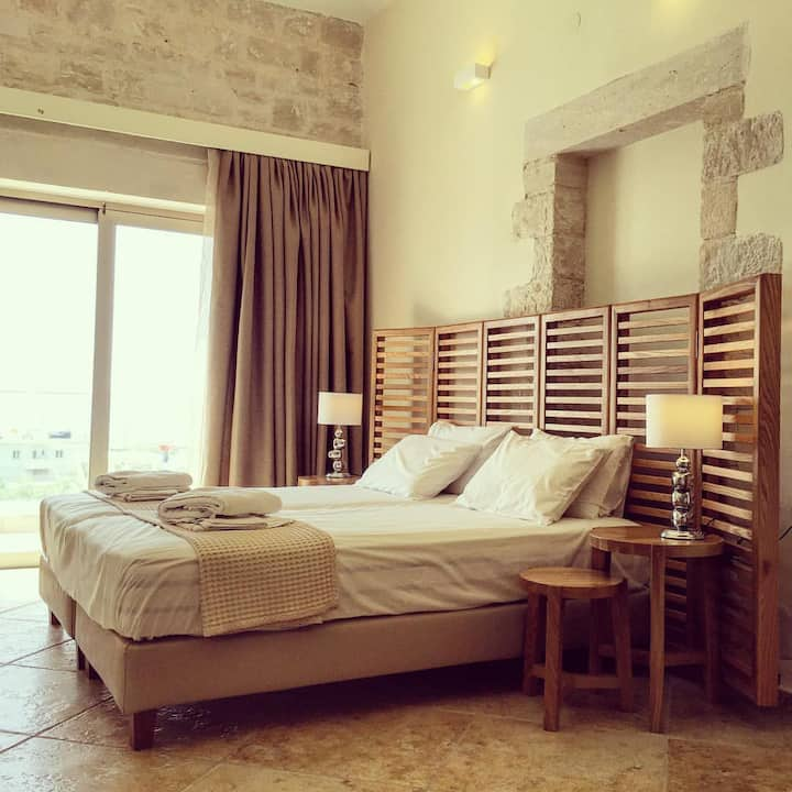 Aphrodite Deluxe 1 bedroom Apartment with sea view