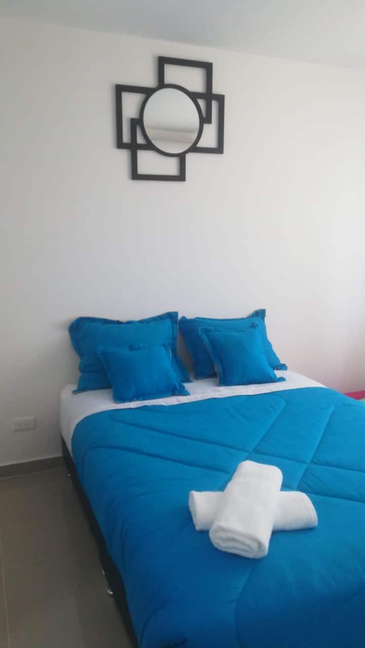 Acogedor apartamento aire acondicionado