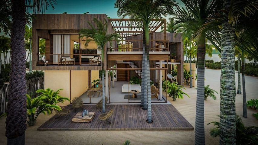 Beach Villa at Casa Playa Maya By Greenwood Tulum